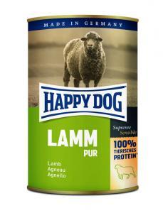 HappyDog konserv, 100% animalisk, lamm 400 g