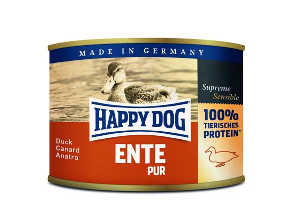 HappyDog konserv, 100% animalisk, anka 200 g