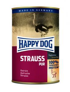 HappyDog konserv, 100% animalisk, struts 400 g