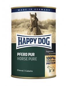 HappyDog konserv, 100% animalisk, häst 400 g