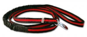 Baggen Expanderkoppel 2m svart-röd