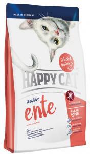 HappyCat Sens.Singelprot. anka, 4 kg