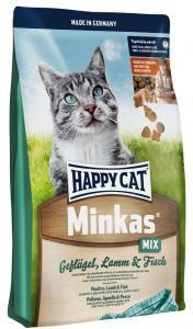 HappyCat Minkas Mix fågel, lamm, fisk, 10 kg