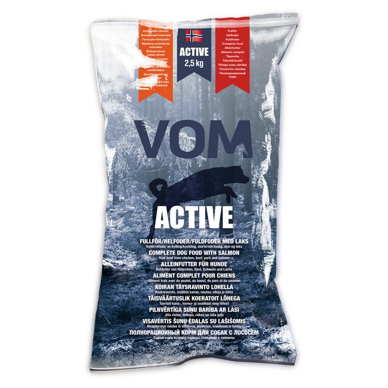 VoH ACTIVE m. lax Köttb. 2,5kg