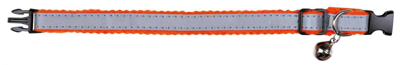 Katthalsband reflekterande filt blandade färger