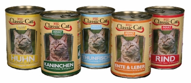 Classic Cat Oxe/Lever 415 g