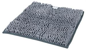Kattlådematta mikrofiber, 38 × 38 cm grå
