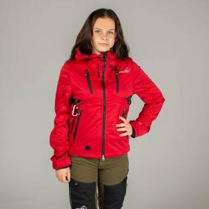 Arrak Akka Softchelljacket lady red 48