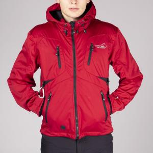 Arrak Akka Softshelljacket  UNISEX red 2XS