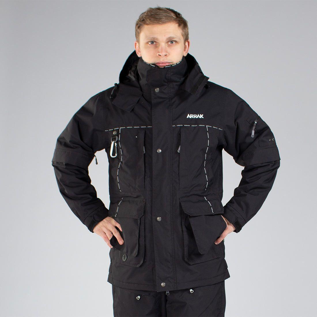 Arrak New Original Jacket Black M