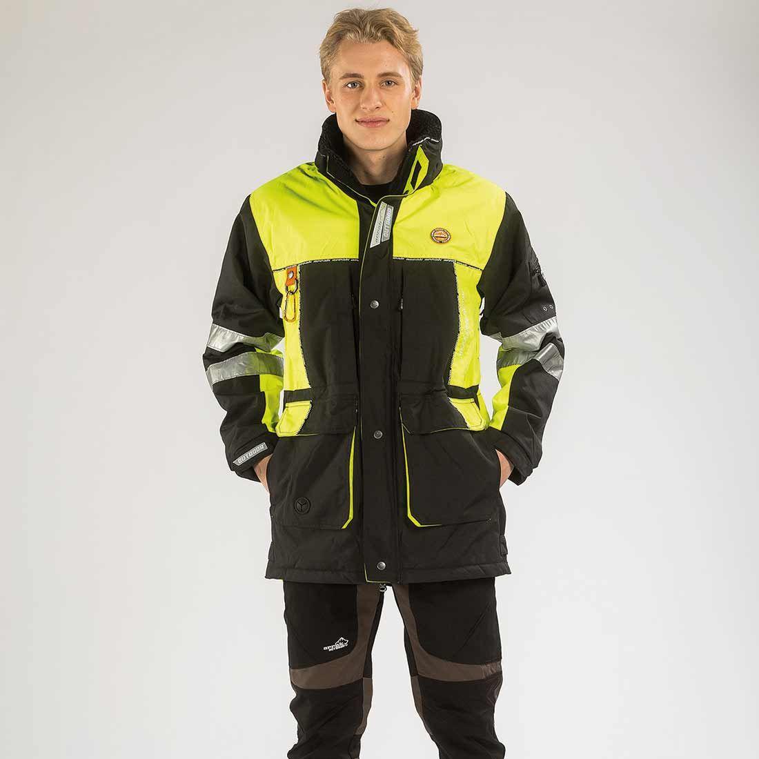 Arrak New Original Jacket High Vis.  M