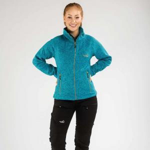Arrak Lady Fleecejacket Turqoise XXL
