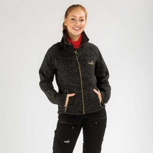 Arrak Lady Fleecejacket Black XXL