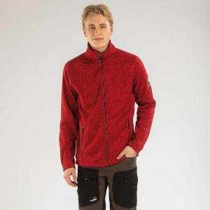 Arrak Men Fleecejacket Red L