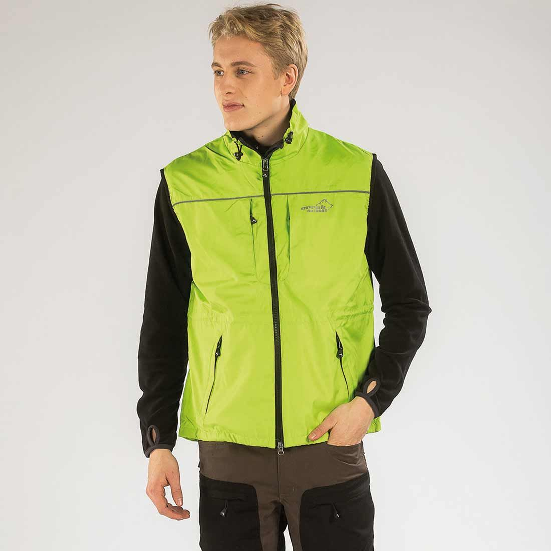 Arrak Jumper vest Lime XL