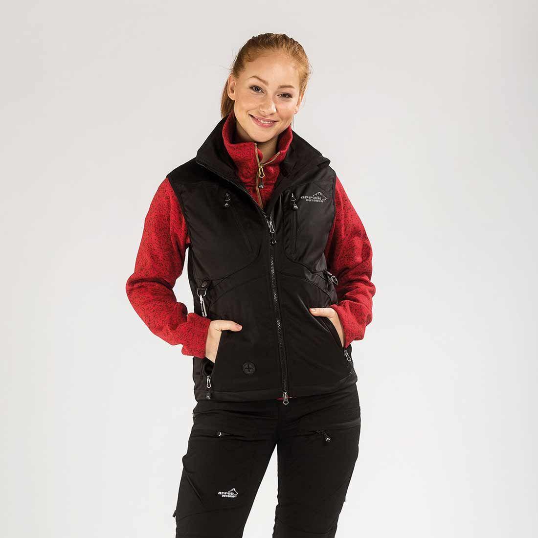 Arrak Acadia Softshell vest Black S