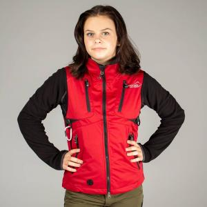 Arrak Acadia Softshell vest  LADY Red 48