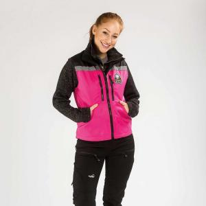 Arrak Original vest LADY Pink/black 48