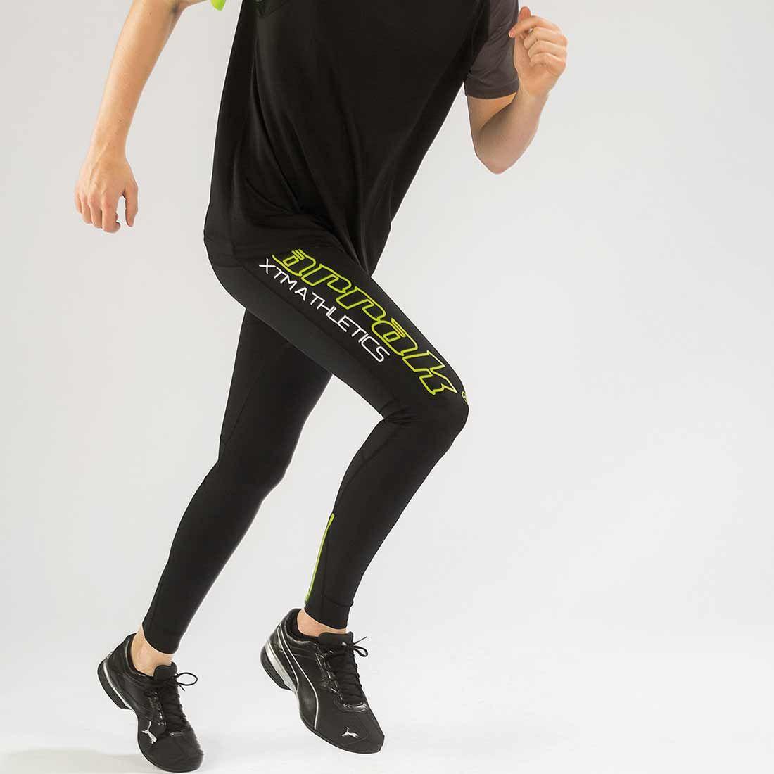 Arrak Athletics tights  Black/Green 4XL