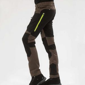 Arrak Active Stretch Pants Brown 46