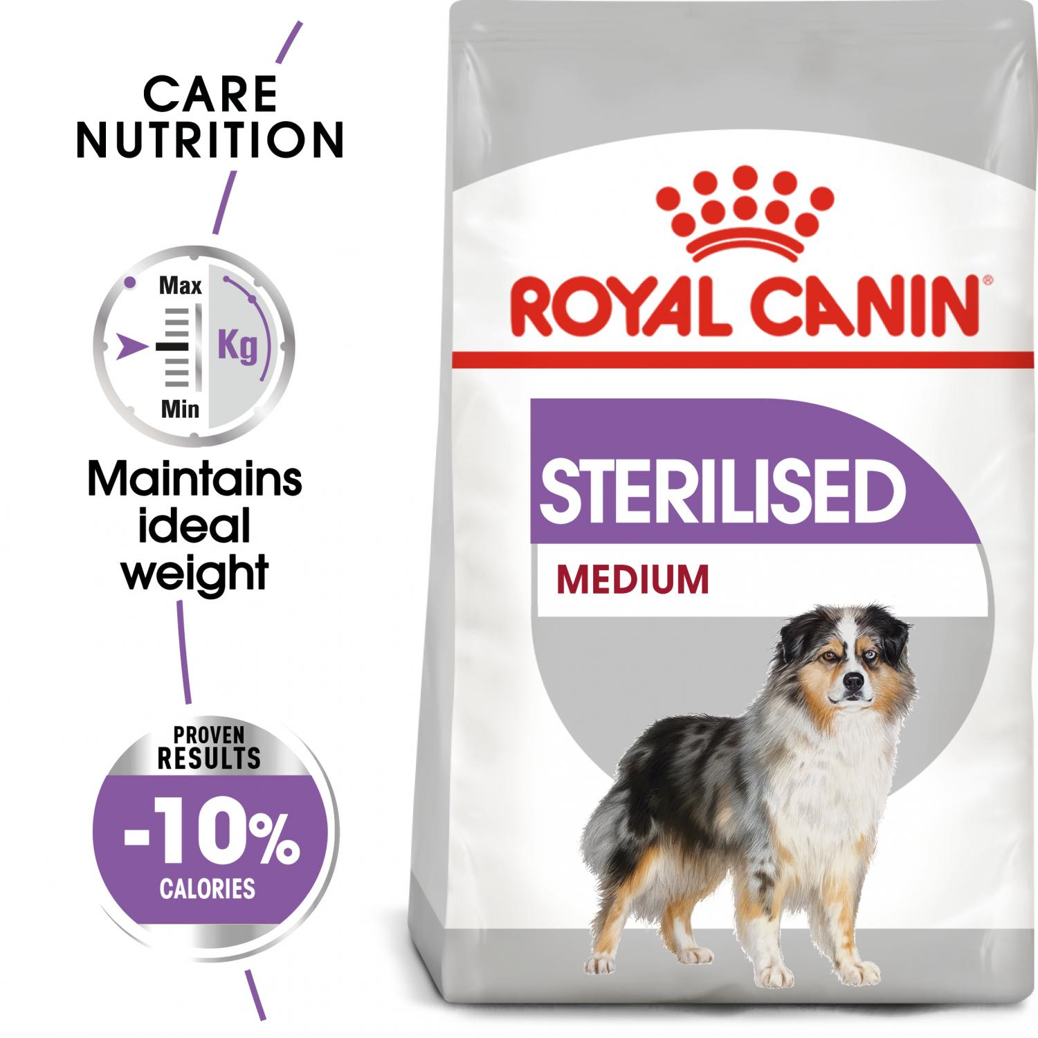 MEDIUM Sterilised 3 kg