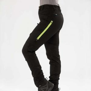 Arrak Active Stretch Pants LADY Long Black 48