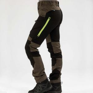 Arrak Active Stretch Pants LADY Long Brown 42