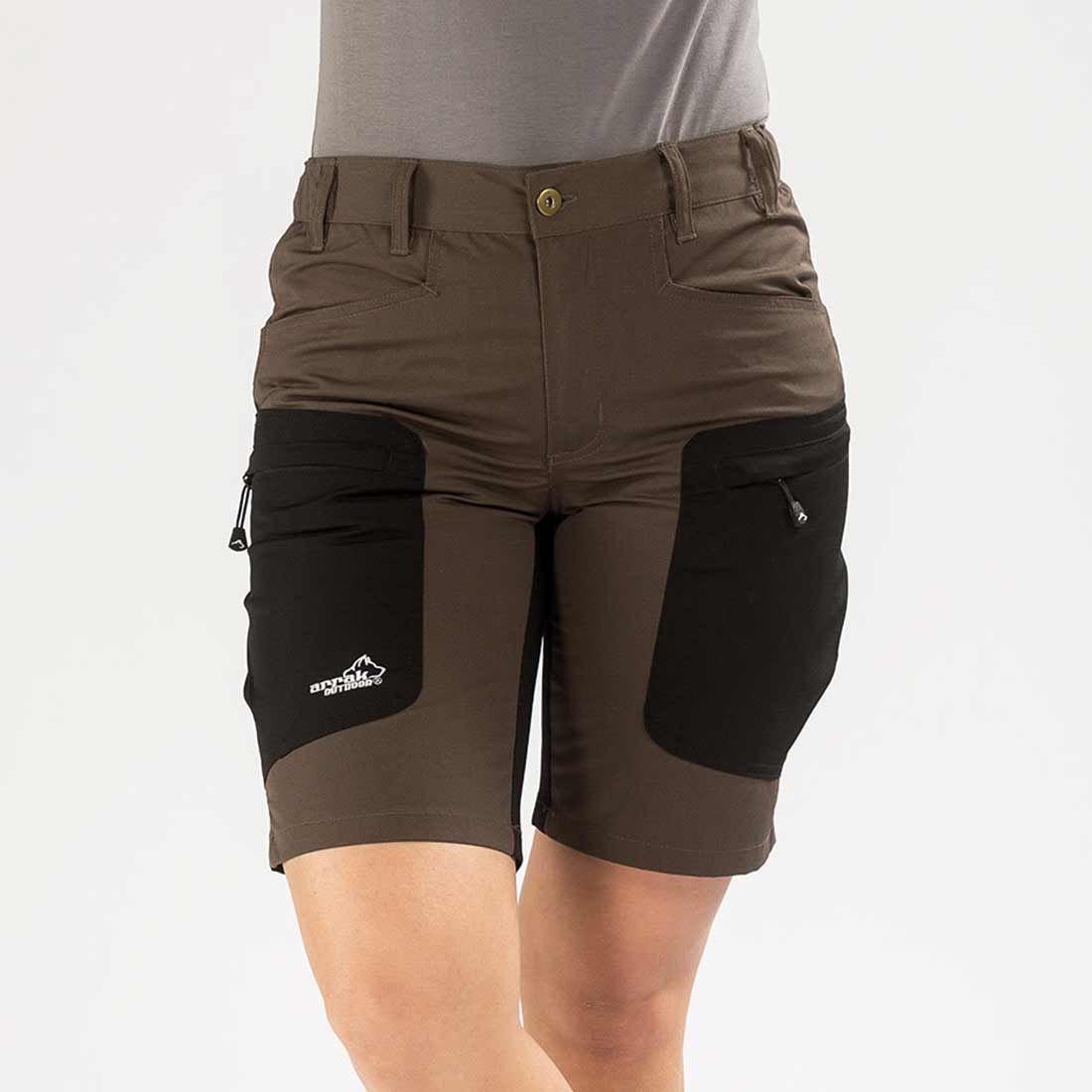 Arrak Active stretch Shorts LADY Brown 48