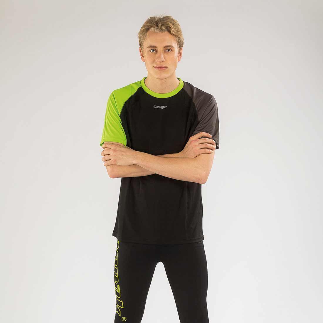 Arrak Function Tee Athletic Black/Green S