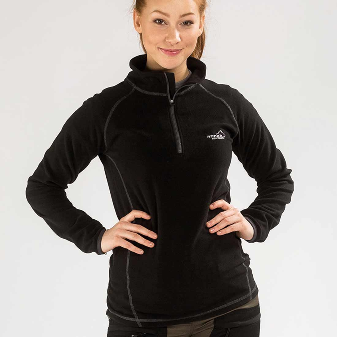 Arrak Peak Microfleece LADY Black 38