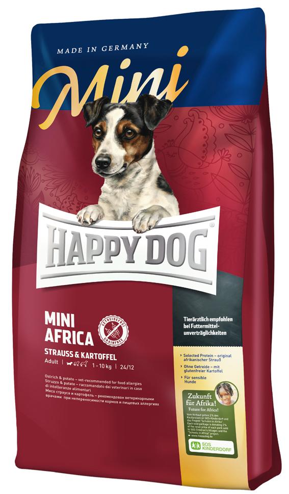 HappyDog Sens.Mini Africa GrainFree 1 kg
