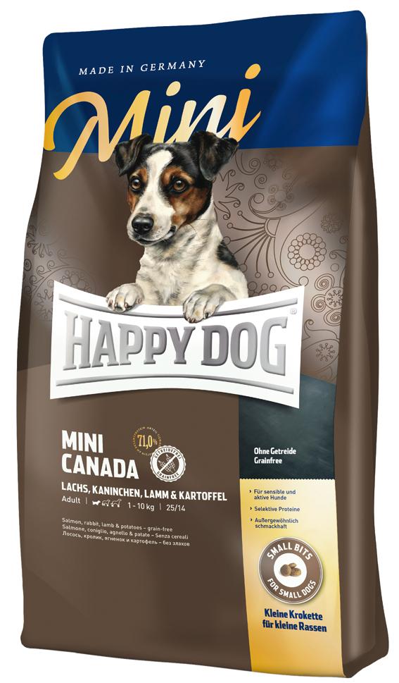 HappyDog Sens.Mini Canada GrainFree 4 kg