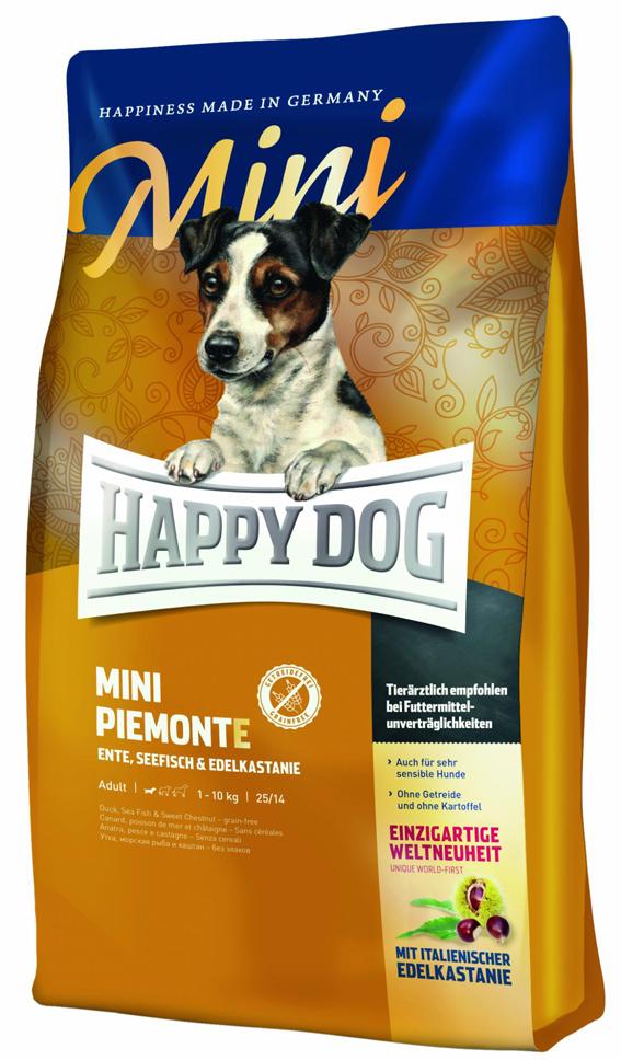 HappyDog Sens.Mini Piemonte GrainFree 4 kg