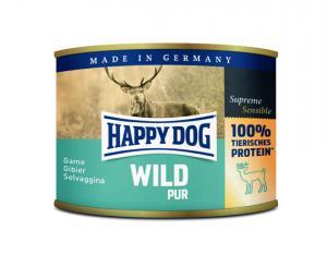 HappyDog konserv, 100% animalisk, vilt 200 g