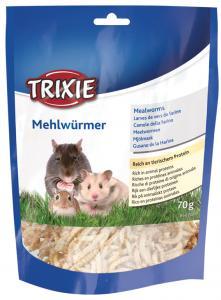 Mjölmaskar, torkade, 70 g (Hamster)