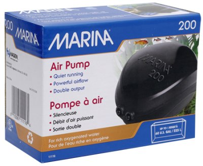 LUFTPUMP MARINA 2002x110L/H