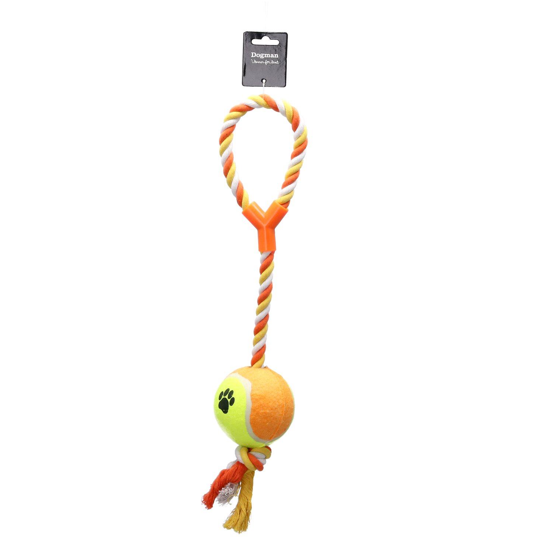 Hundlek Rep m XL Tennisboll  9x9x53cm Orange