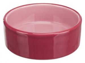 Keramikskål,0.8 l/ø 16 cm, rosa