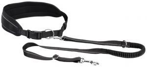 HandsFreebälte m expander 75-120/9 cm, koppel 120-150, svart