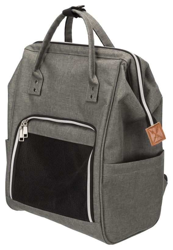 Ava ryggsäck,32 × 42 × 22 cm, grå