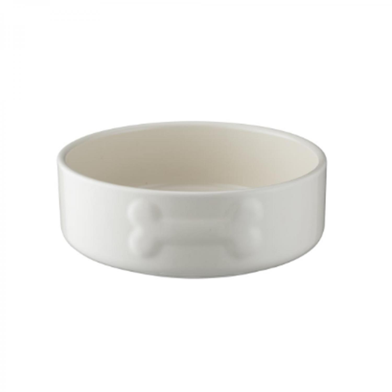 Keramikskål Cremefärgad med benmotiv MC 0,5l d=150/40mm
