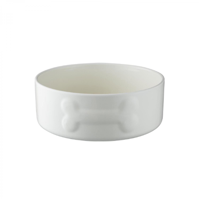 Keramikskål Cremefärgad med benmotiv MC 1,75 liter. d=200/80mm
