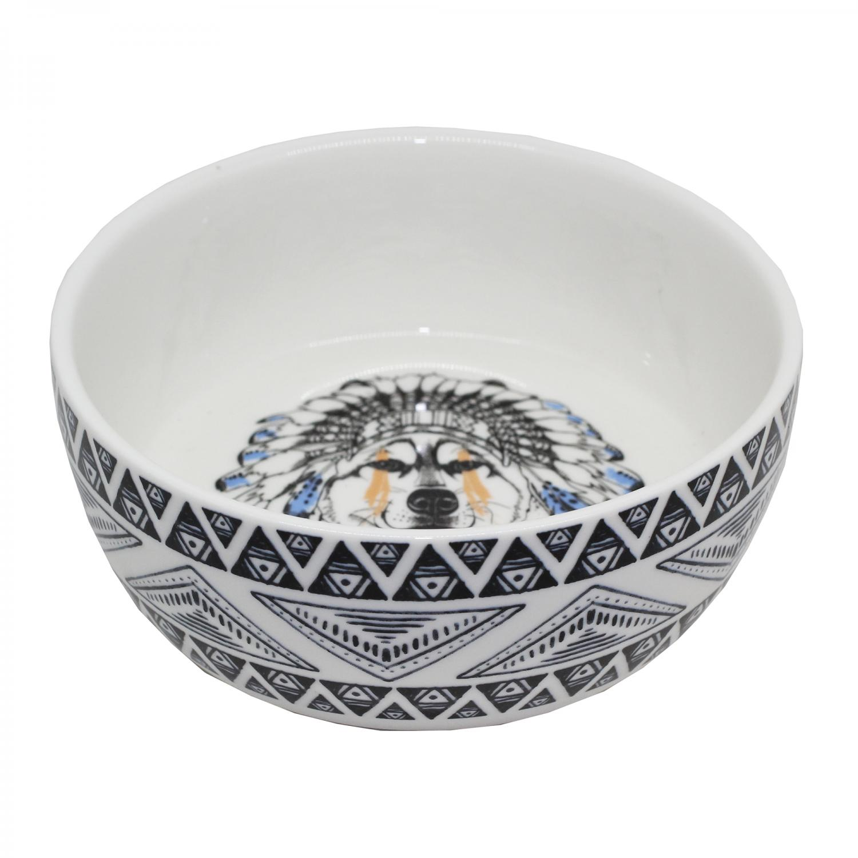 Keramikskål Hund Free Spirit Tyrol C.a 400ml. 160 mm