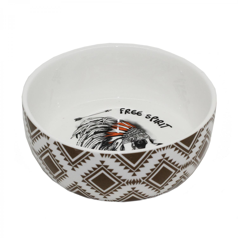 Keramikskål Hund Ethnic Tyrol C.a 400ml. 160 mm