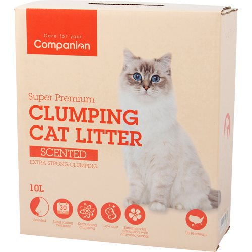 Companion kattgrus Scented 10 L