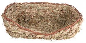 Gräsbädd för kanin, 33 × 12 × 26 cm