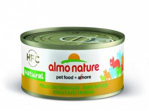 Almo Nature HFC Natural kyckling & ost 70g
