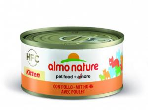 Almo Nature HFC Natural kyckling för kattungar 70 g