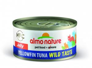 Almo Nature HFC Wild Taste Jelly gulfenad tonfisk 70g