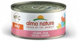 Almo Nature HFC Jelly Lax 70g - våtfoder för katt